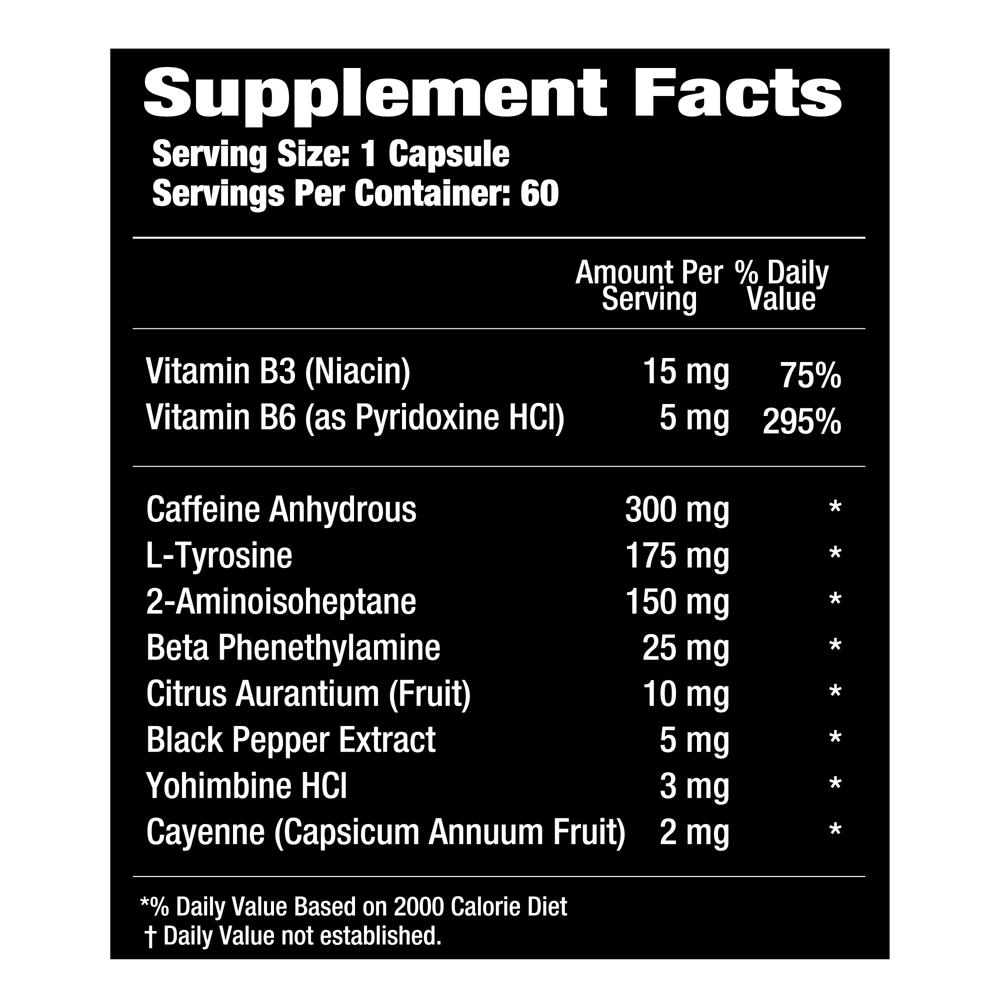 Phase One Nutrition P1 Lean Phase 60 caps thermogenic fat burner |  Bodyshock.pro