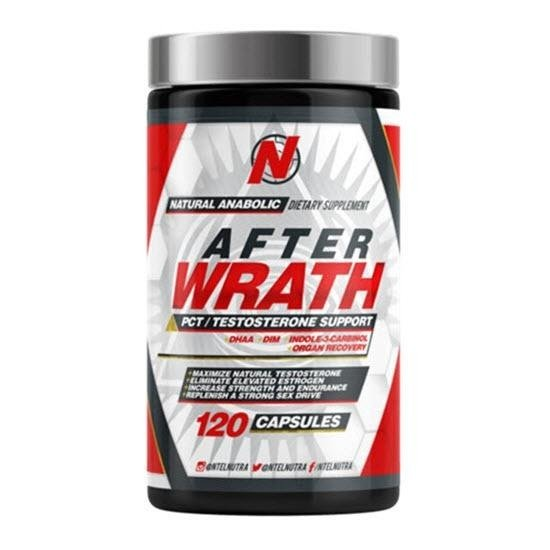AfterWrath Pct testosterone support 120 caps