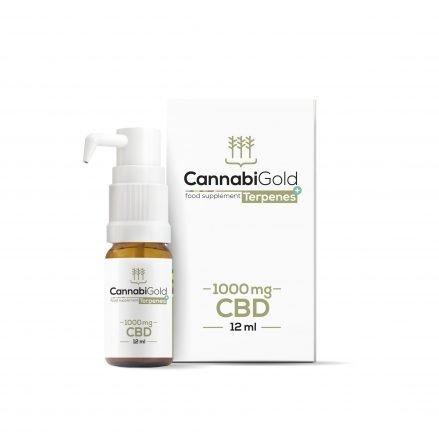 CannabiGold + Terpenes 1000 mg CBD 12 m
