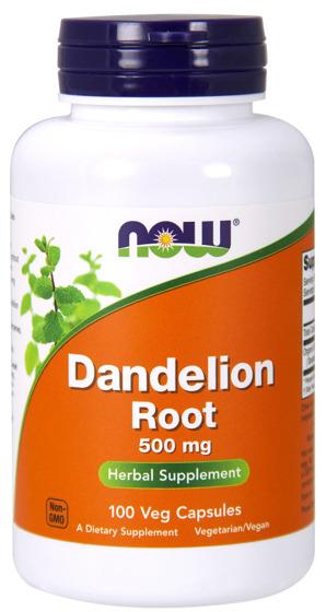 Dandelion Root 500mg 100 caps