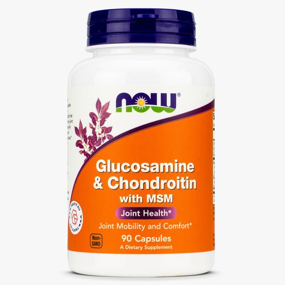 Glucosamine & Chondroitin with MSM 90 caps