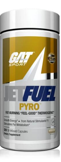Jet Fuel Pyro 120 caps