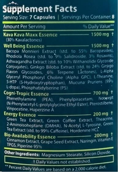 Jungle Essence with kava kava 60 caps