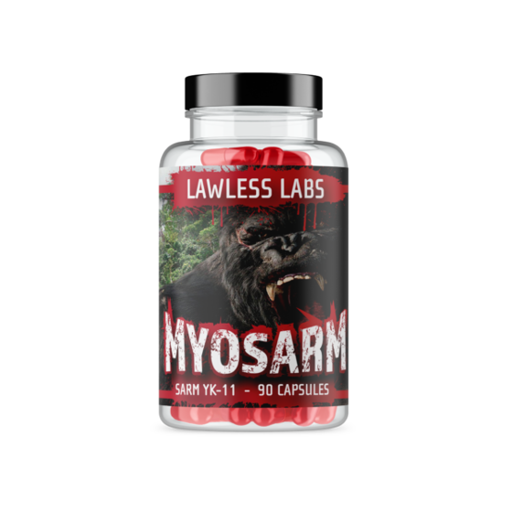 Lawless Myosarm SARM YK-11 90 caps
