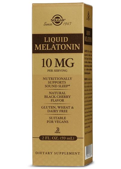 Liquid Melatonin 10 mg 59 ml