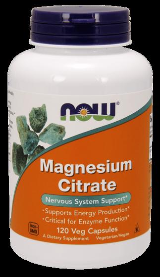 Magnesium Citrate 400mg 120 caps