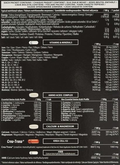 Mega Vitek 30 packet 180 g