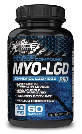Myo-LGD Ligandrol 10mg 60 caps