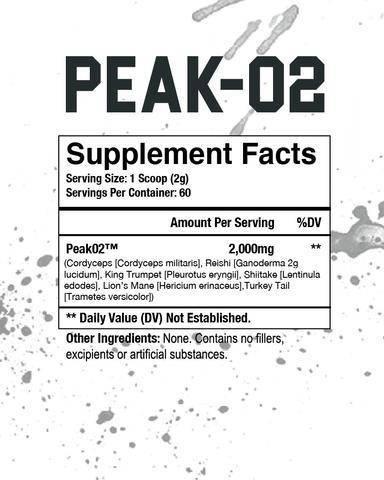 Peak-O2 120g