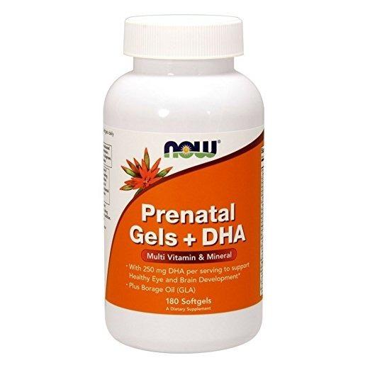 Prenatal Gels + DHA 180 caps