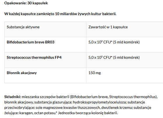 SportBiotic probiotic 30 caps