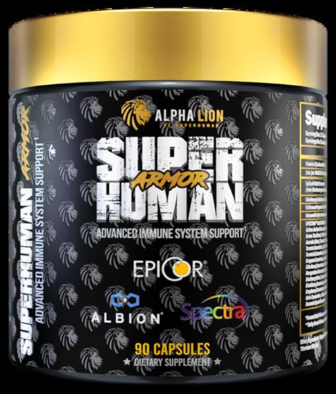 Super Human Armor 90 caps