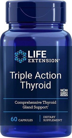 Triple Action Thyroid 60 caps