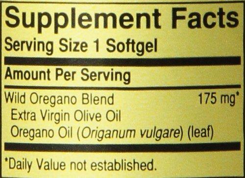 Wild Oregano Oil 175 mg 60 caps