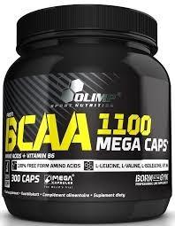 BCAA 1100 mega caps 300 caps