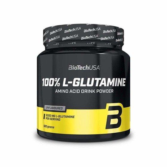 BioTechUSA 100 % L-Glutamine 500g