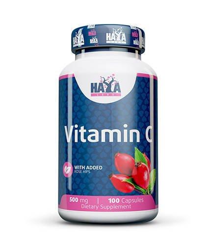 Haya Vitamin C with Rose Hips 500 mg 100 caps