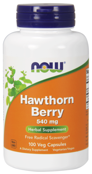 NowFoods Hawthorn Berry 540mg 100 caps