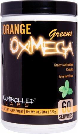 Orange Oximega Greens 327g