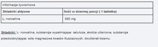 UNS L-Norvaline 90 caps