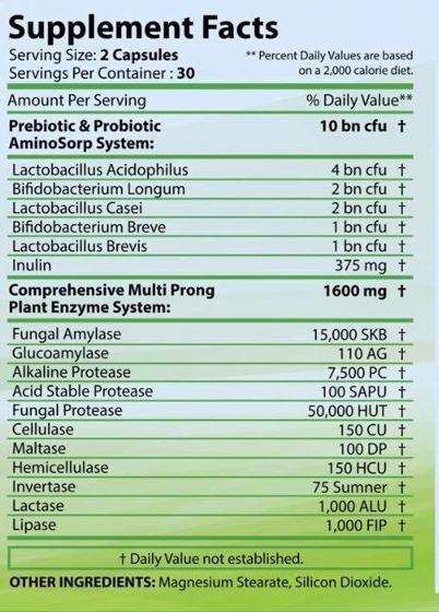 Ultra Pro-Biotics 60 caps